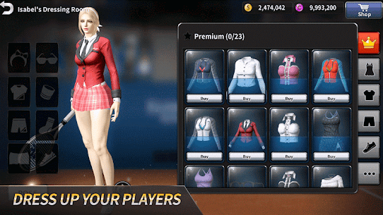 Ultimate Tennis: 3D online sports game 5