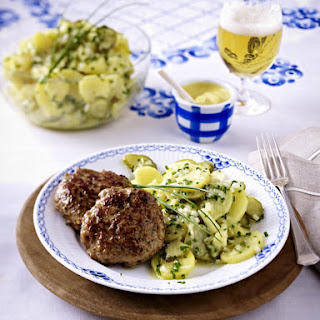 Meatballs with Potato Salad