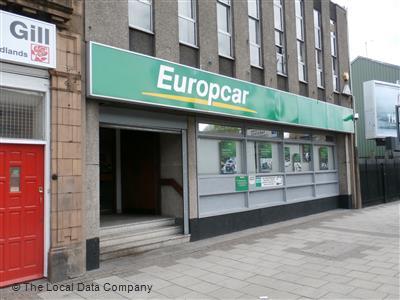 Europcar On Bristol Street Car Van Hire In Digbeth Birmingham