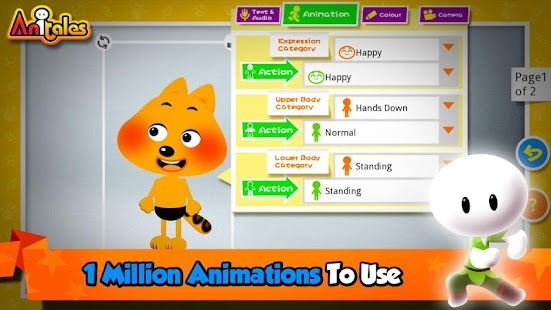 how to make cartoon video app
