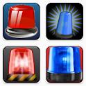 Police Siren Light Sounds icon