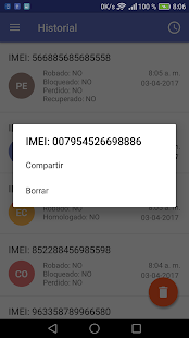 Comprobar IMEI Screenshot