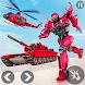 ヘリコプター変換戦争ロボットヒーロー:タンクシューティング