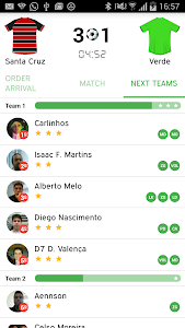 Peladeiros Pro Soccer Players screenshot 4