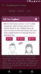 Complements -Impress Your Love- screenshot thumbnail