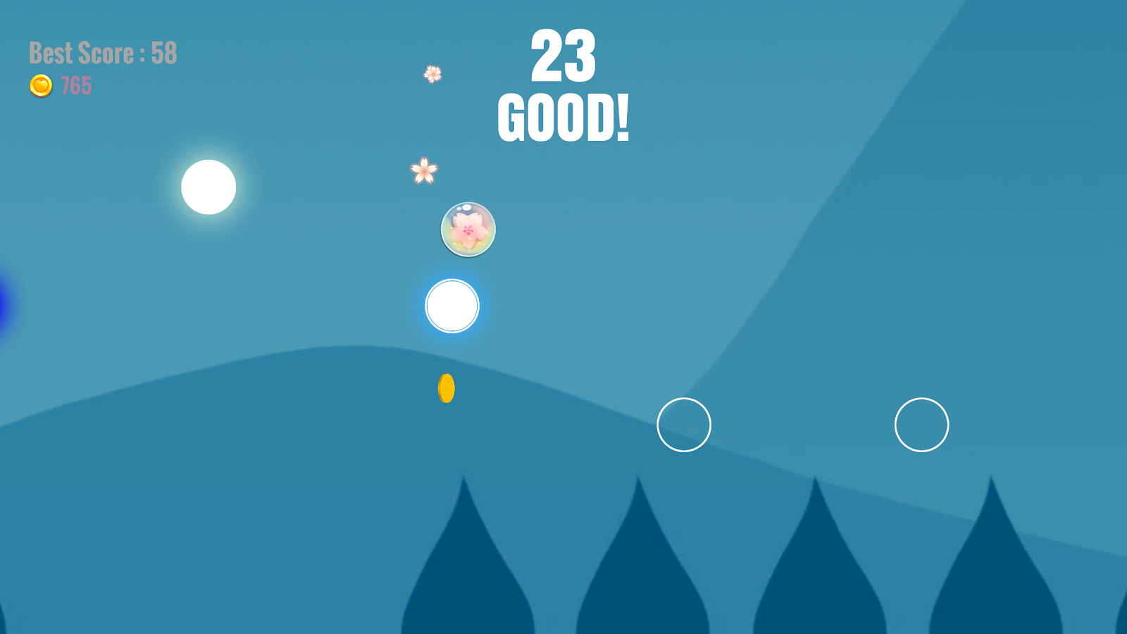 Touch Pong!- screenshot
