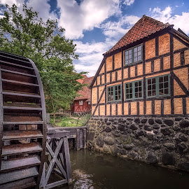 Den Gamle By by Ole Steffensen - Buildings & Architecture Other Exteriors ( history, den gamle by, museum, denmark, aarhus, halftimbered, watermill )