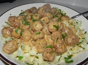 Tina's Swedish Meatballs