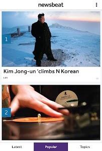 BBC Newsbeat screenshot 0