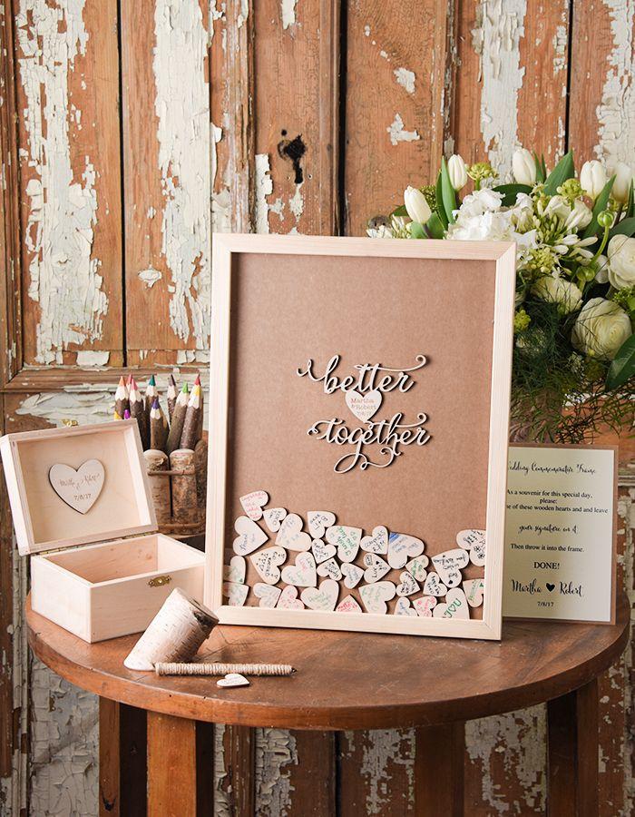 Macam Desain Buku Tamu Pernikahan Terunik