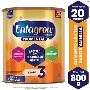 Enfagrow Premium    Vainilla Lata 800 Gr