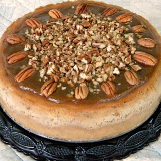 Pecan Praline Cheesecake.