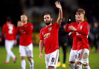 """Volgens Juan Mata moet Manchester United het afmaken in de terugmatch: """"Club Brugge is een goede ploeg maar wij moeten door naar de volgende ronde"""""""