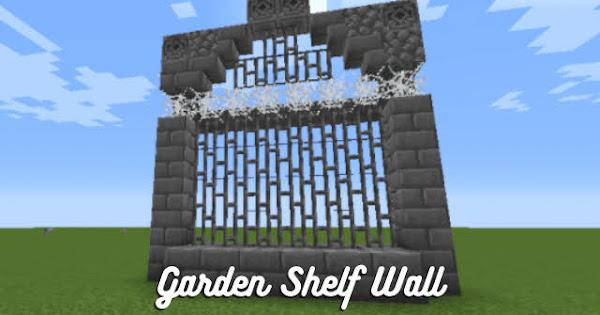 Stone Brick and Iron Fence Wall