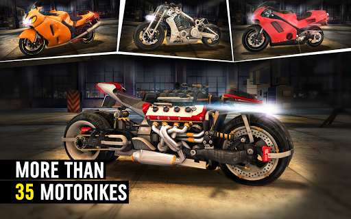 MotorBike: Traffic & Drag Racing I New Race Game apkpoly screenshots 9