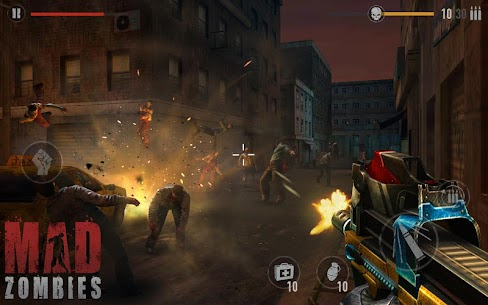 MAD ZOMBIES : Offline Zombie Games Apk Download For Android and Iphone 1
