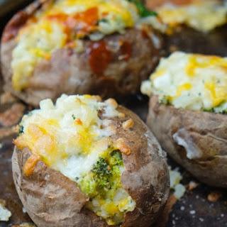 Twice Baked Broccoli Cheddar Potatoes