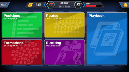 SMASH Routes - The Playbook Game  screenshots 1