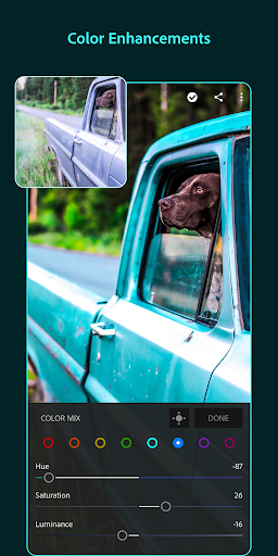 Adobe Lightroom - Photo Editor & Pro Camera 5.1 screenshots 3