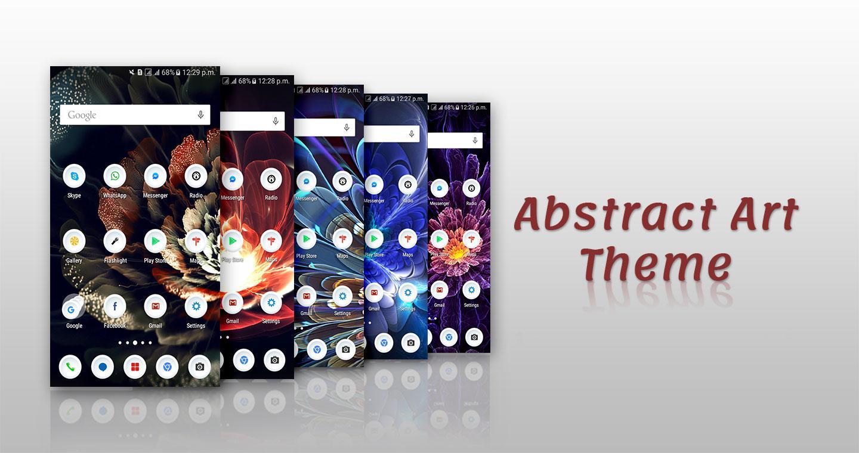 Gmail theme gallery - Abstract Art Theme Screenshot