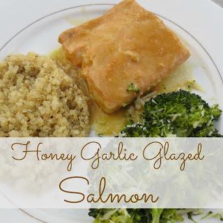 Honey Garlic Glazed Salmon Recipes.