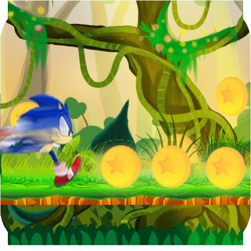 Jungle Sonic Jump Run