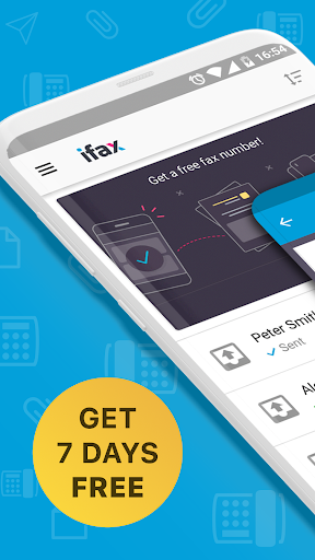 iFax: Send free fax online (7 day trial)