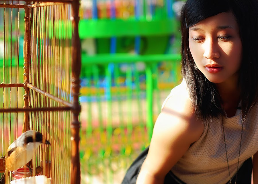 Possession by Aziz Woo - People Portraits of Women