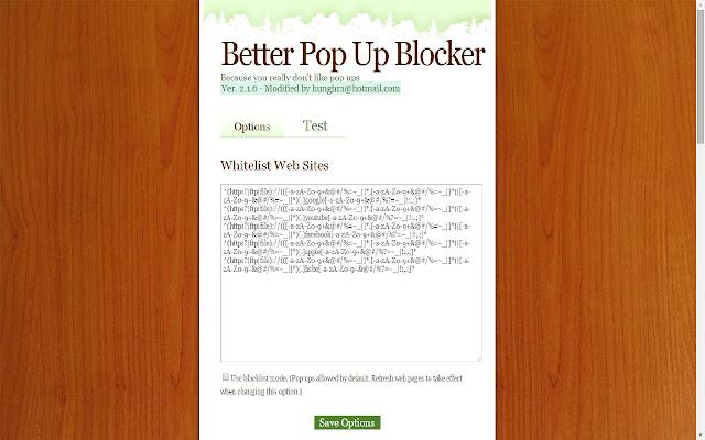 Better PopUp Blocker 2