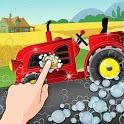 Farm Washing Tractor workshop icon