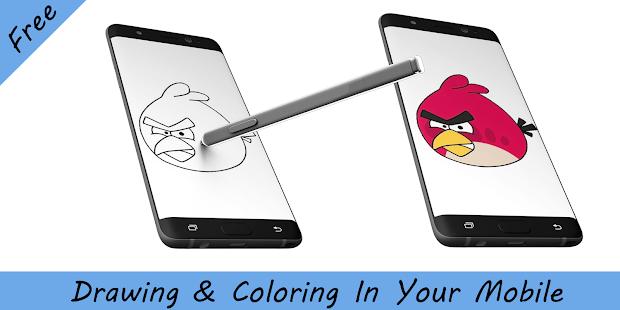 Descargar Cómo dibujar aves enojado Andorid-Cómo dibujar aves ...