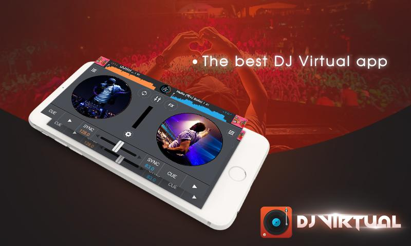 DJ Mixer Player with My Music- screenshot
