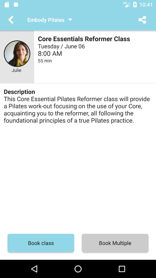 Embody Pilates Manhattan Beach- screenshot