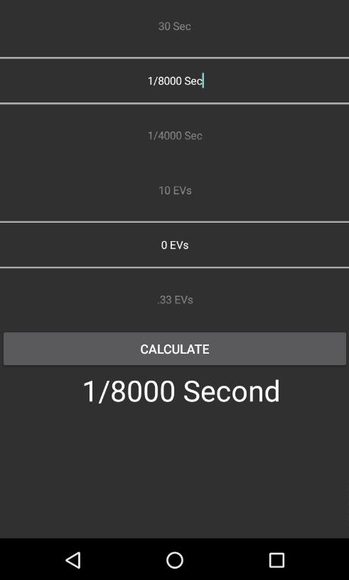 ND Filter Calculator- screenshot