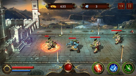 Castle Defense 2017 - Tower Defense Game screenshot