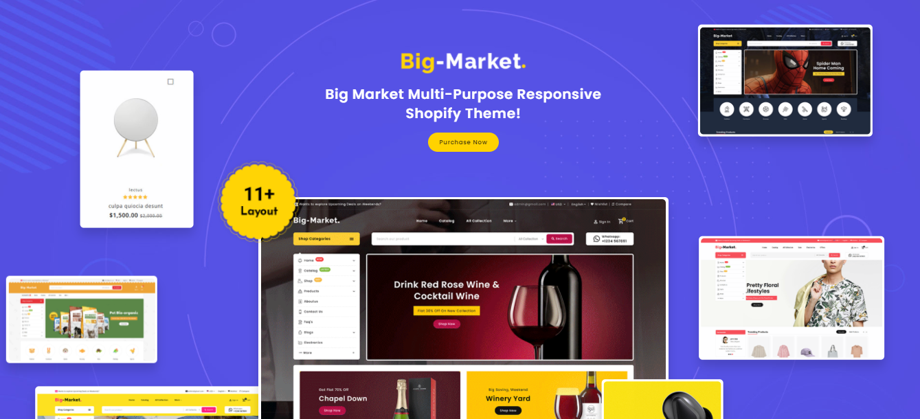Big Market - Crafts Shopify Theme