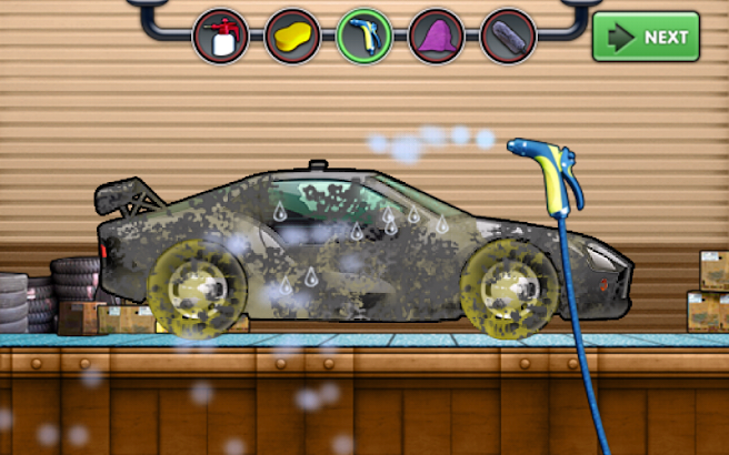Super Sports Car Wash Extreme screenshot