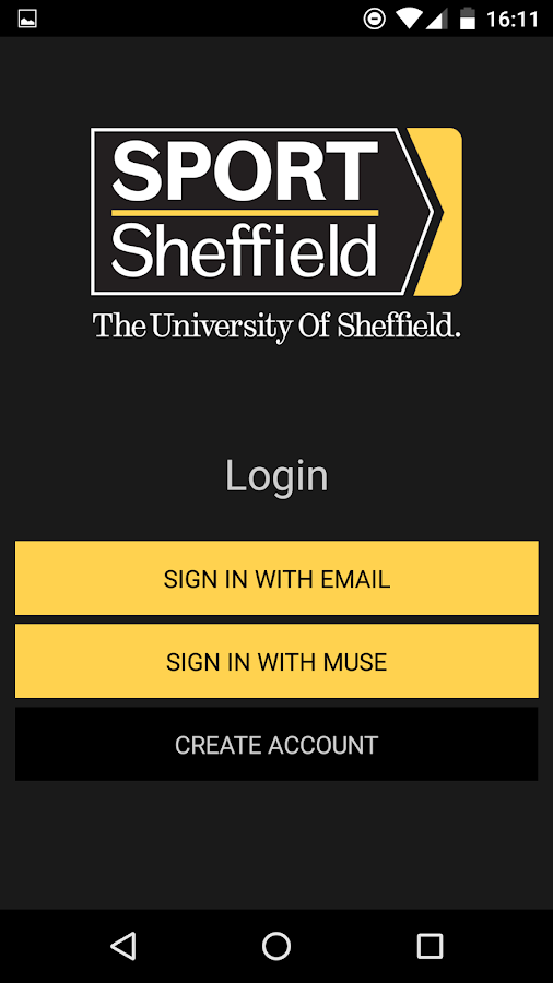 Sport Sheffield Online- screenshot