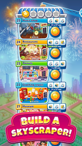 Pocket Tower: Building Game & Megapolis Kings apkbreak screenshots 1