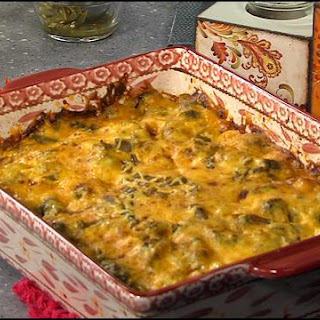 Mary Anne's Cheese Potatoes & Ham Casserole