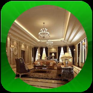 Moderní design obývacího pokoj - náhled