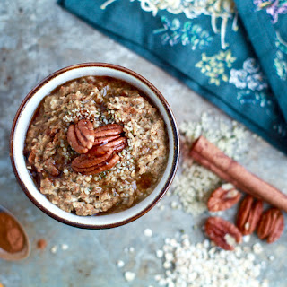 Protein-Packed Hemp & Maple Pecan Oatmeal