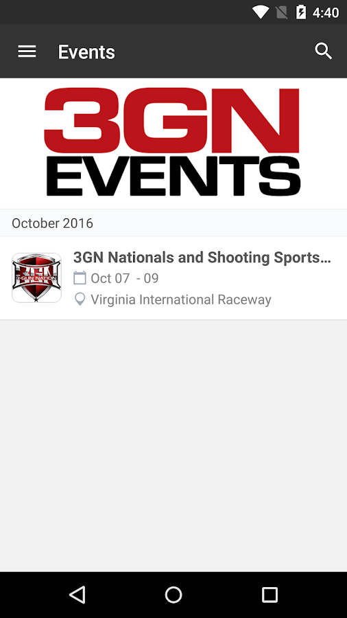 3-Gun Nation Events- screenshot