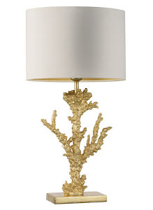 Heathfield & Co Coral bordslampa - lavanille.com