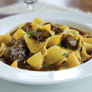 Tuscan Beef Ragu.