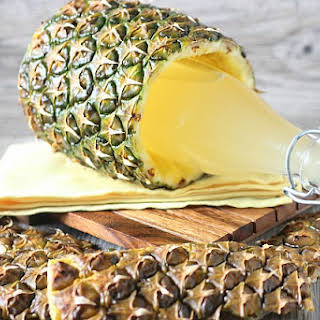 Pineapple Infused Vodka.