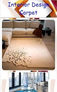 Interior Design Carpet - náhled