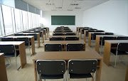 An empty classroom. File photo.