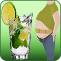 Drink to lose Belly Fat icon