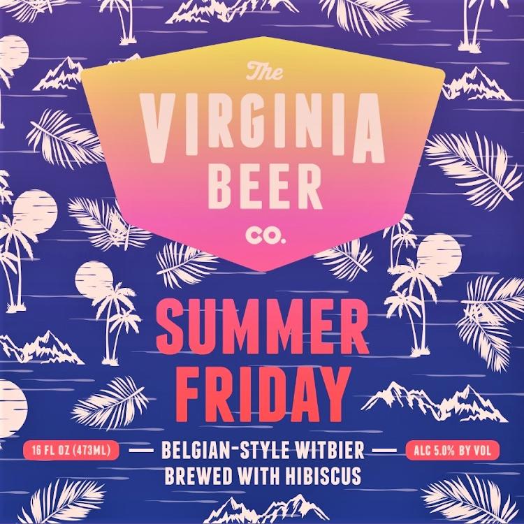 Logo of Virginia Beer Co. Summer Friday